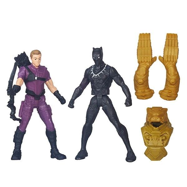 Игровой набор Hasbro B6431N Avengers Мстители Разборные фигурки (с 2 фигурками Мстителей)