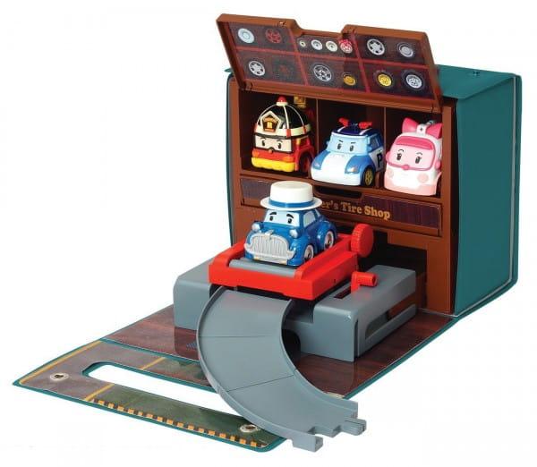 Игровой набор Robocar Poli Мастерская Уиллера