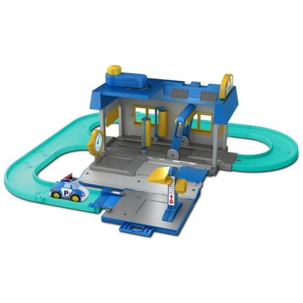 Игровой набор Robocar Poli Мойка Уиллера