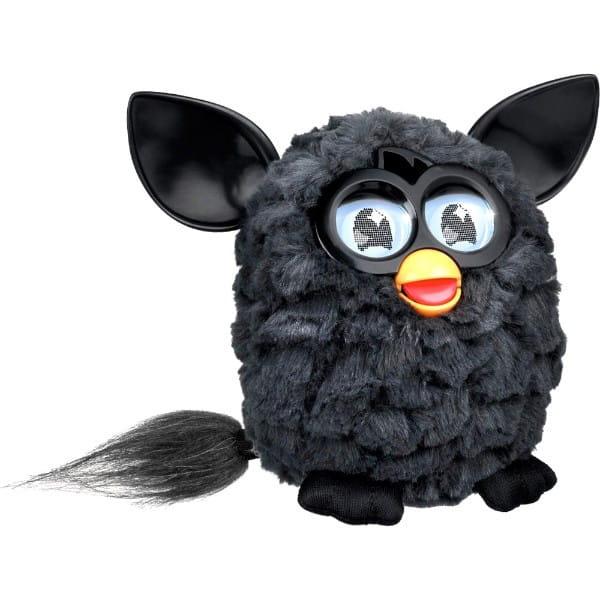 Купить Интерактивная игрушка Furby (Ферби) черная (Hasbro) в интернет магазине игрушек и детских товаров