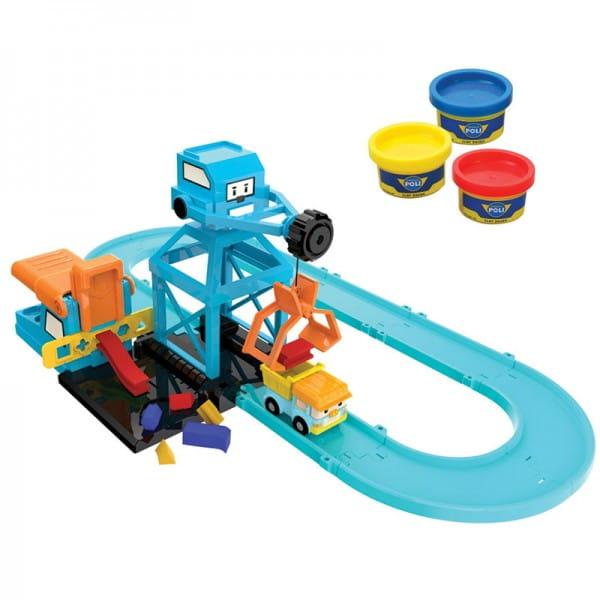 Игровой набор Robocar Poli 83252 Цементный завод