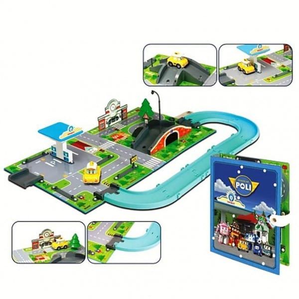 Игровой набор Robocar Poli 83248 Город - Почта с мостом