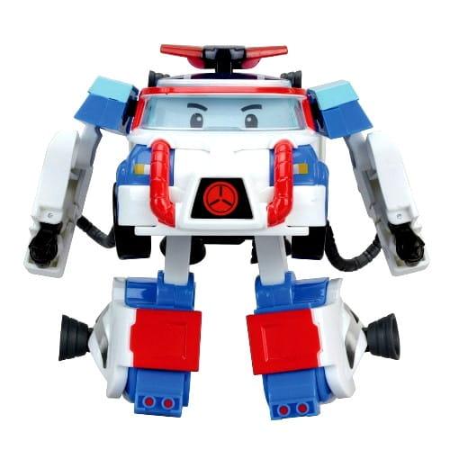 Игровой набор Robocar Poli Трансформер Поли с костюмом астронавта - 10 см