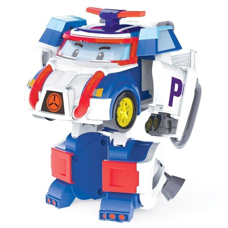Игровой набор Robocar Poli 83311 Трансформер Поли с костюмом астронавта - 10 см