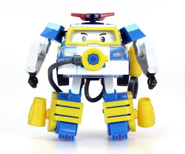 Игровой набор Robocar Poli Трансформер Поли с костюмом водолаза - 10 см