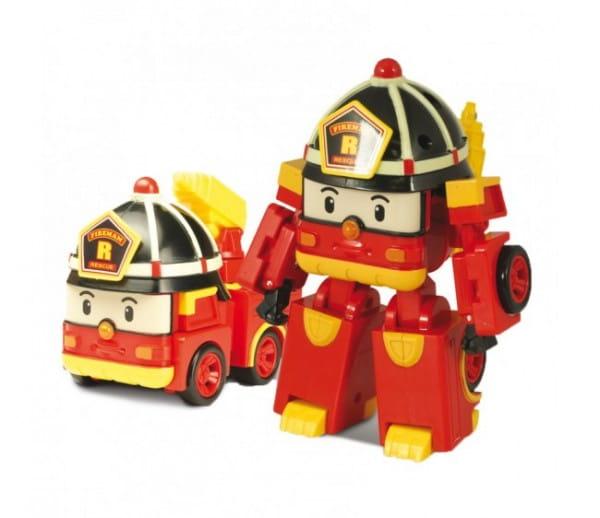 Игровой набор Robocar Poli Трансформер Рой - 10 см