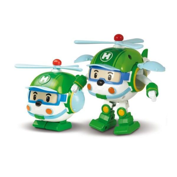 Игровой набор Robocar Poli Трансформер Хэли - 10 см
