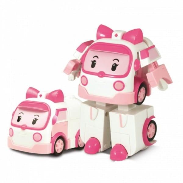 Игровой набор Robocar Poli Трансформер Эмбер - 7 см
