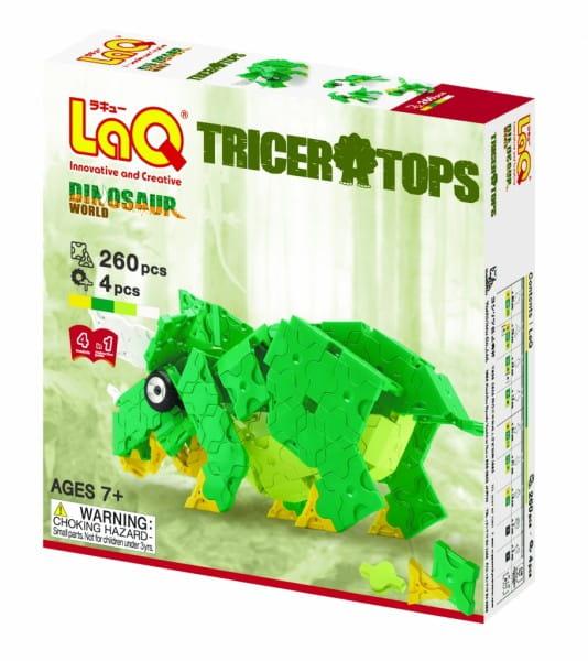 Конструктор LaQ 1290 Triceratops - 260 деталей