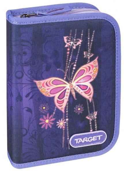 Пенал с наполнением Target Collection Золотая бабочка