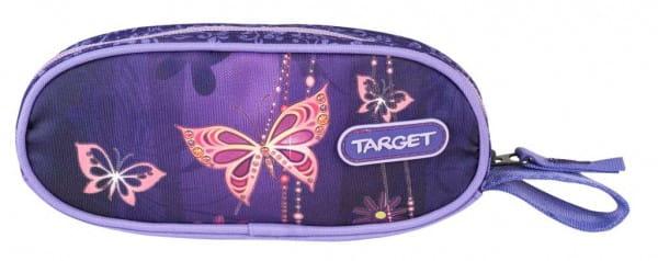 Пенал овальный Target Collection 17984 Золотая бабочка