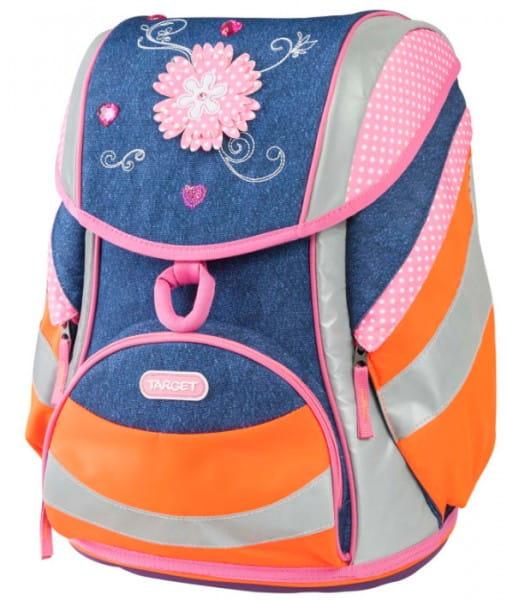Ранец - рюкзак Target Collection 17953 Джинсовые цветы