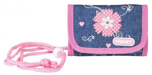 Детский кошелек Target Collection 17954 Джинсовые цветы