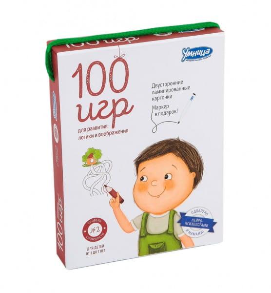 Комплект УМНИЦА 100 игр - второй уровень