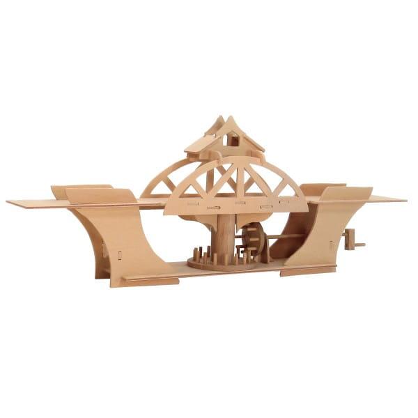 Сборная деревянная модель Bridges 2665 Вращающийся мост