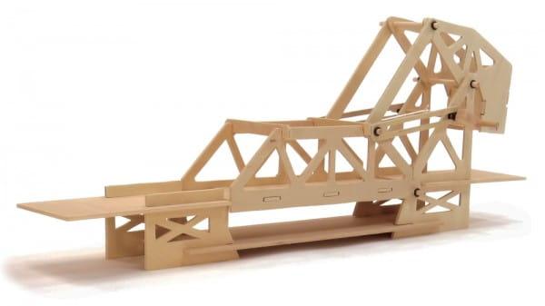 Сборная деревянная модель Bridges 2666 Разводной мост