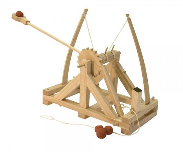 Сборная деревянная модель Leonardo Da Vinci 2661 Катапульта