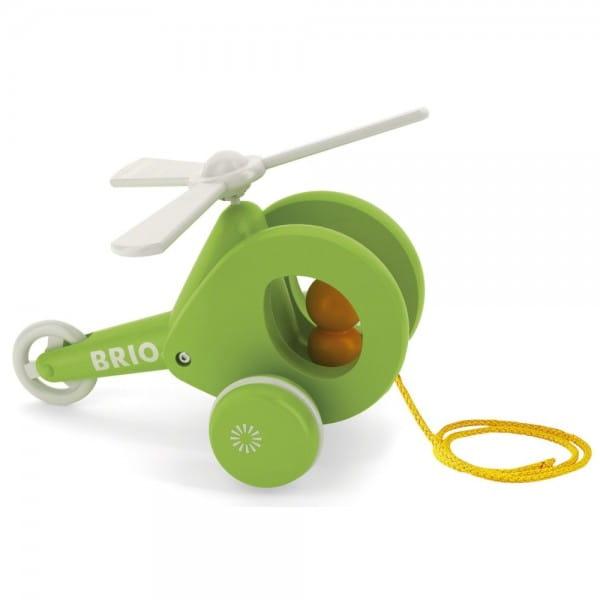 Каталка на веревочке Brio 30195 Вертолет