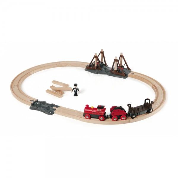 Железная дорога Brio 33030 Паровоз и строящийся мост