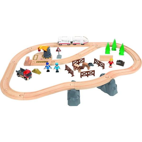 Железная дорога Brio Загородная поездка