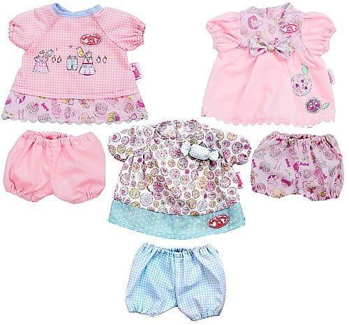 Купить Одежда My First Baby Annabell Платьица (Zapf Creation) в интернет магазине игрушек и детских товаров