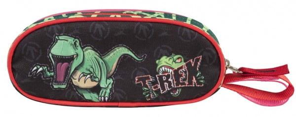 Пенал овальный Target Collection 17924 Динозавр Тирекс 2