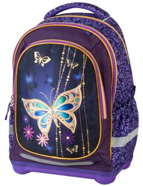 Ранец - рюкзак супер легкий Target Collection 17911 Золотая бабочка