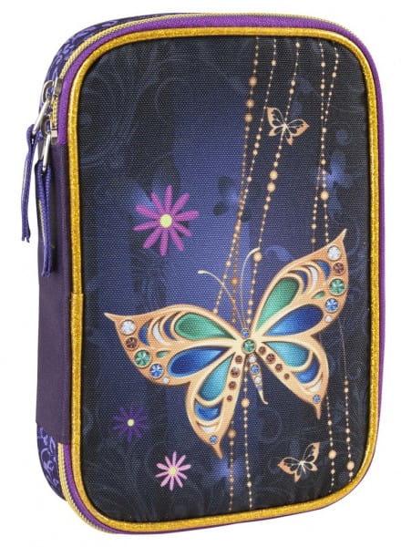 Пенал с наполнением Target Collection 17915 Золотая бабочка 2