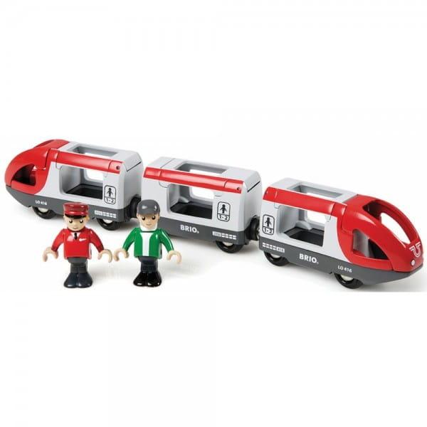 Поезд Brio 33505 Пассажирский экспресс (без механизма)