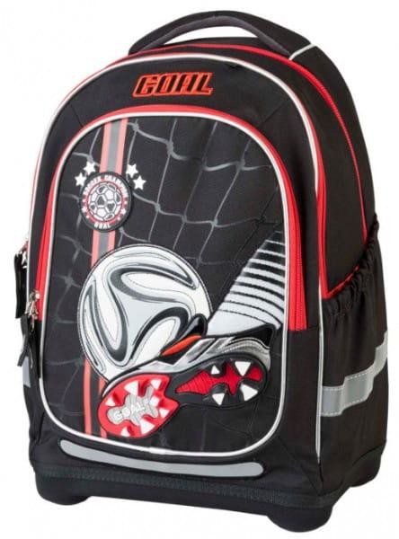 Ранец - рюкзак супер легкий Target Collection 17875 Чемпион по футболу - черный