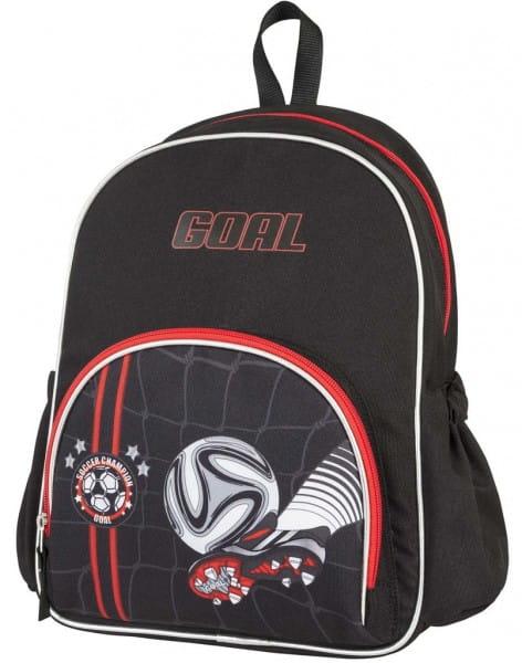 Ранец - рюкзак малый Target Collection 17879 Чемпион по футболу - черный