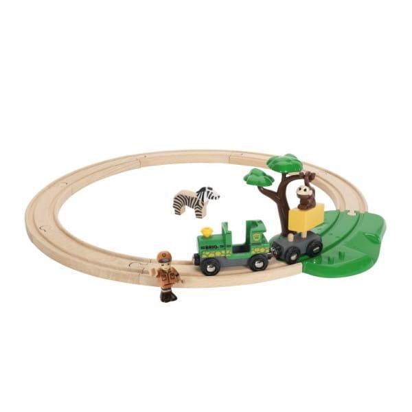 Железная дорога Brio 33720 Сафари
