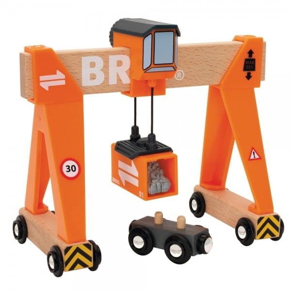 Игровой набор Brio 33732 Портовый кран