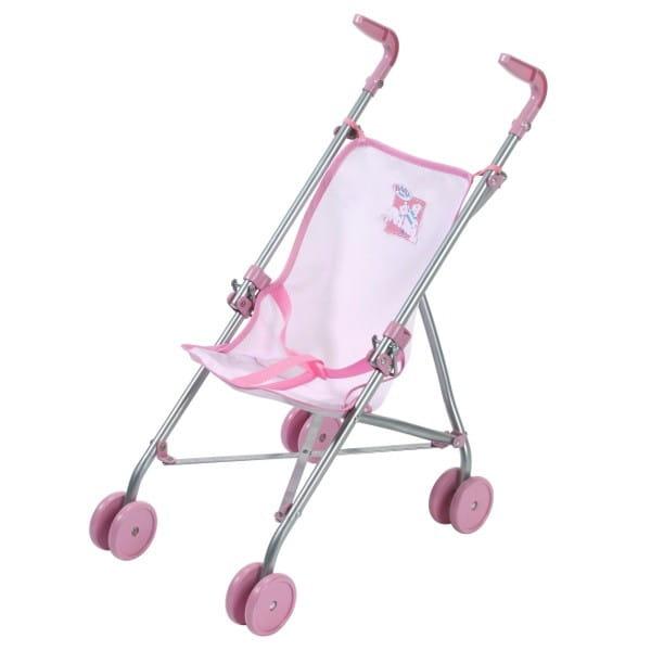 Купить Розовая коляска-трость Baby born (Zapf Creation) в интернет магазине игрушек и детских товаров