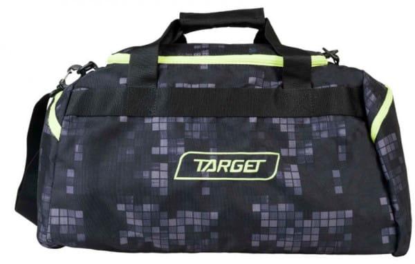 Дорожная сумка Target Collection 17487 Black Flou Блэк Флоу