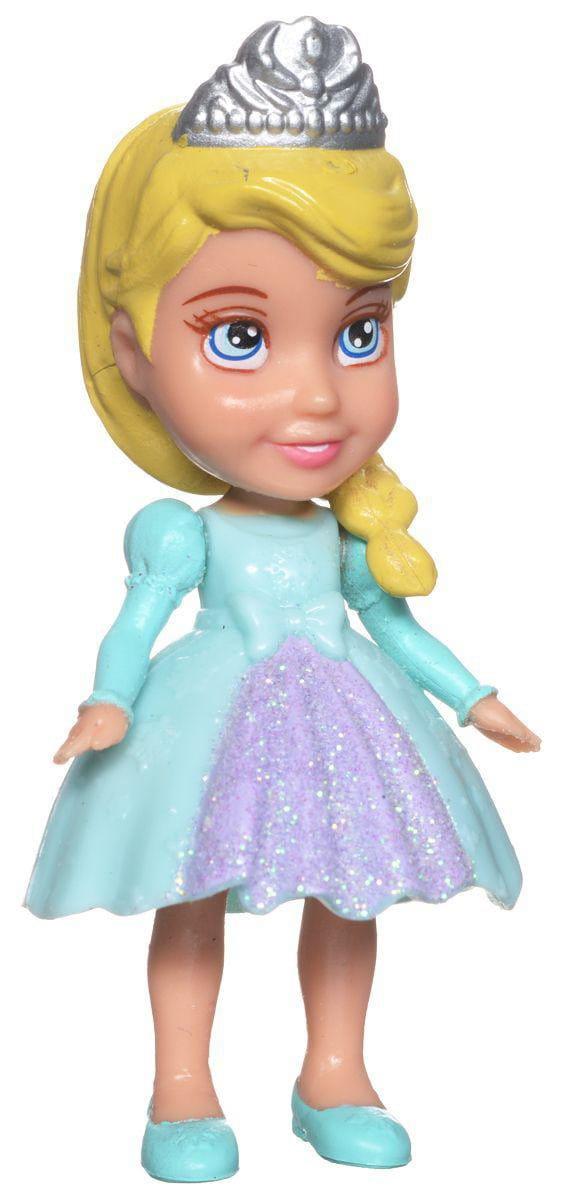 Мини-кукла Disney Princess 758960 Принцессы Дисней Малышка 7,5 см - Эльза