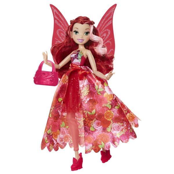 Кукла Disney Fairies 956660 Дисней Фея Делюкс с сумочкой 23 см - Розетта