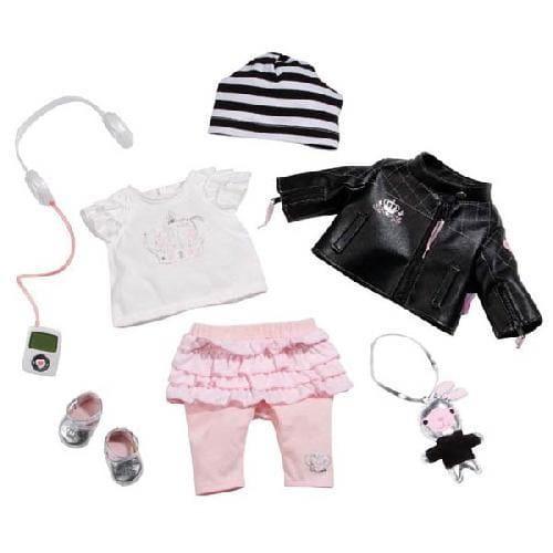 Купить Набор аксессуаров Суперзвезда Baby born (Zapf Creation) в интернет магазине игрушек и детских товаров