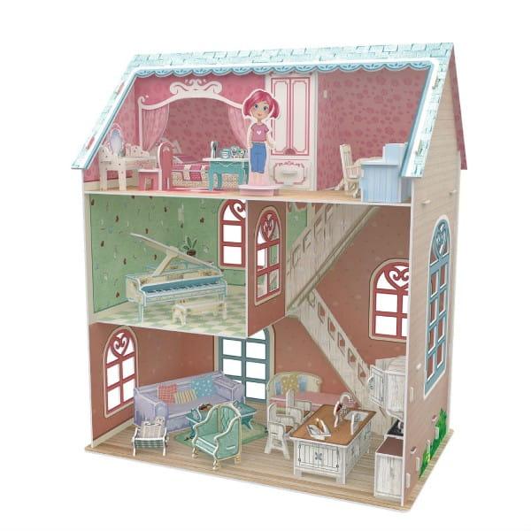 Объемный 3D пазл CubicFun Дом пианиста