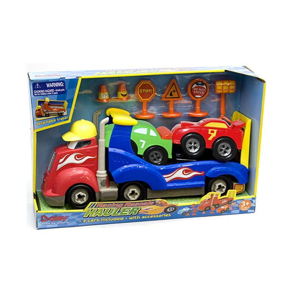 Игровой набор BOLEY Автовоз Смелый гонщик