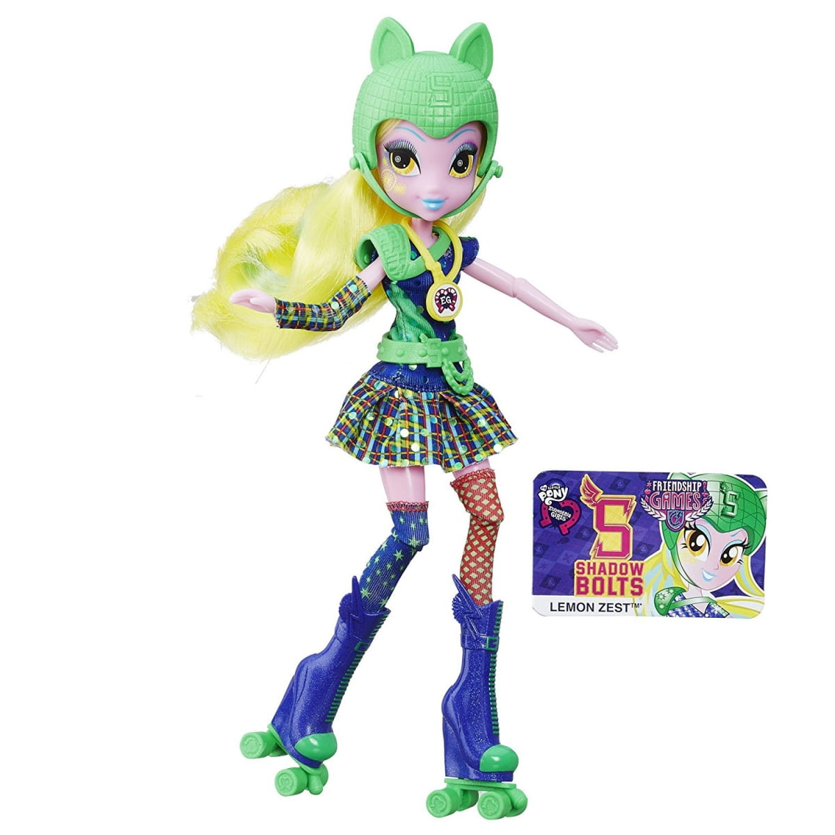 Кукла My Little Pony Equestria Girls Лемон Зест Lemon Zest (HASBRO)