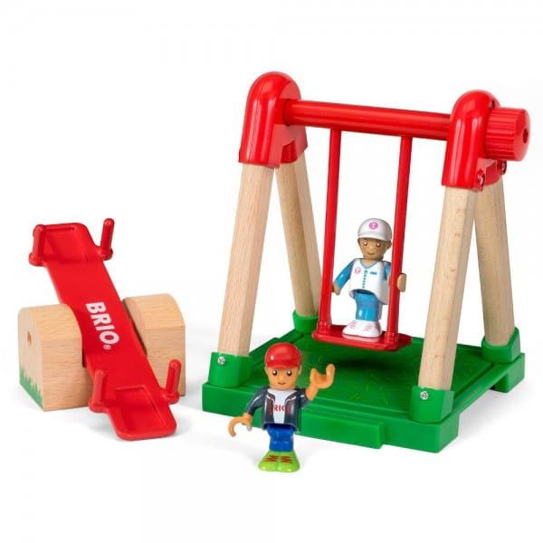 Игровой набор Village Детская площадка (Brio)
