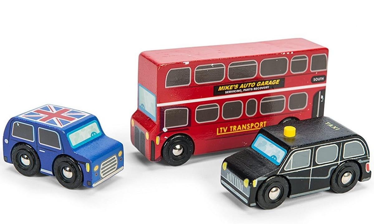 Игровой набор машинок LE TOY VAN Маленький Лондон