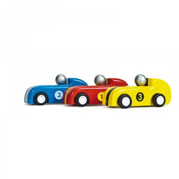 Игровой набор машинок Le Toy Van Догоните гонщиков