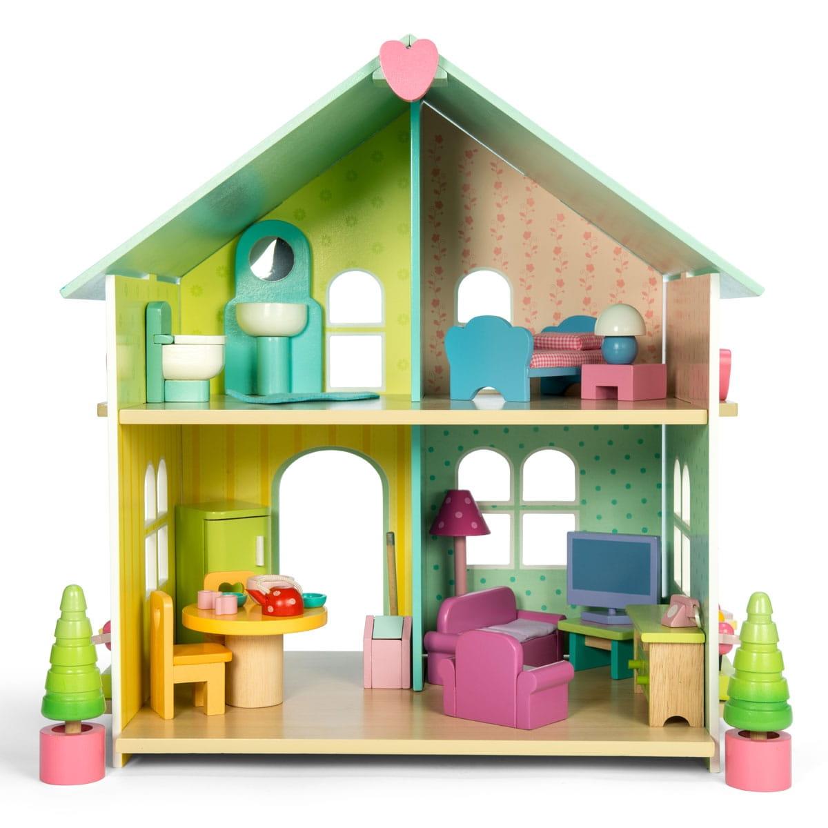 Кукольный домик с мебелью Le Toy Van H171 Лесная сказка