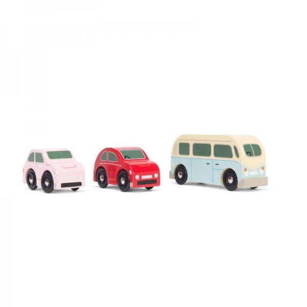 Игровой набор машинок Le Toy Van Ретро-Метро
