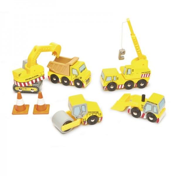Игровой набор Le Toy Van Строительная техника