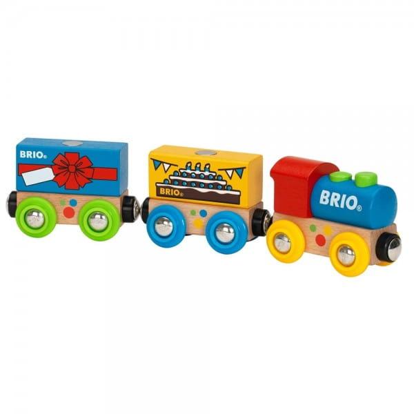 Поезд Brio 33818 Паровозик День Рождения