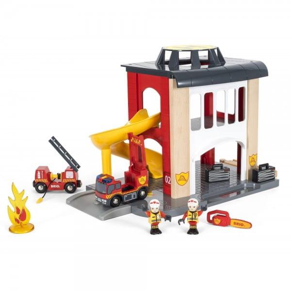 Игровой набор Rescue Пожарное отделение (Brio)