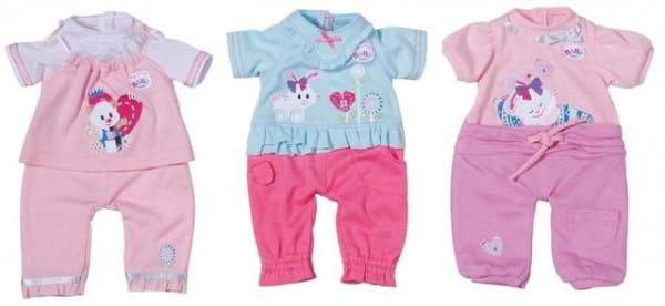 Купить Одежда My little Baby born Комбинезончики - 32 см (Zapf Creation) в интернет магазине игрушек и детских товаров